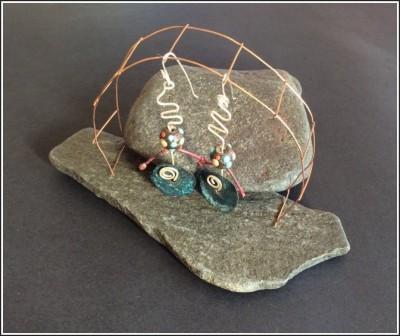Earrings by Annie Desantis
