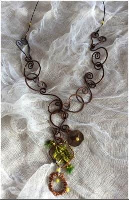 Neckpiece by Annie Desantis